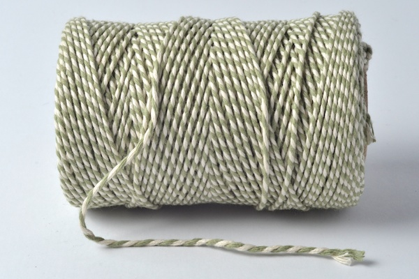 bakers twines origian sage green coloured baker's twine