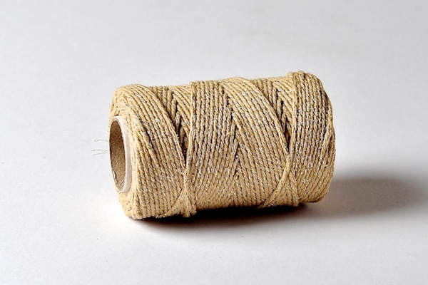 gold sparkle bakers twine ranger