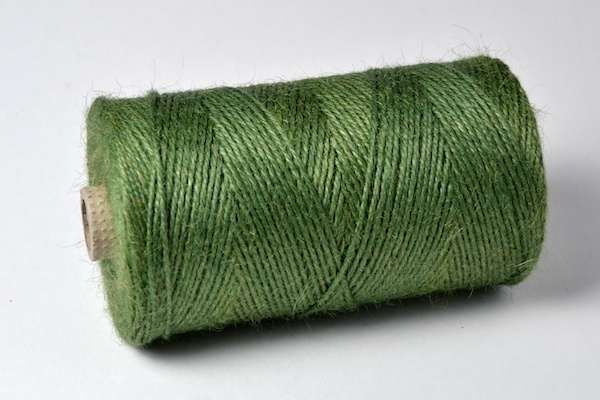 the original garden green jute twine now manufactured in a range of colours
