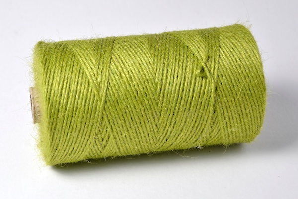 spool of lime coloured twine
