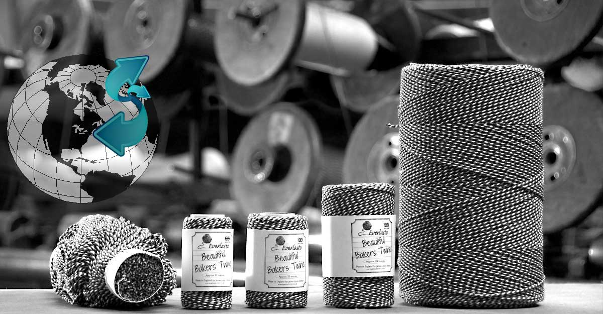 baker's twine been manufactured since 1856 by james lever