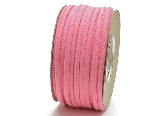 pink magician rope soft hollow cotton
