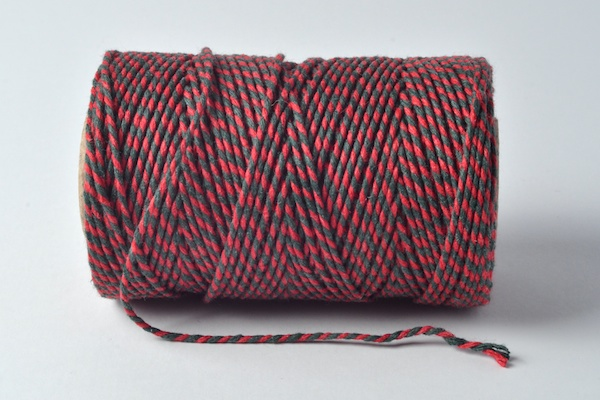 bakers twine red and green xmas bakers twines
